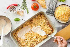 besciamella pasta al forno