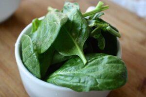 spinaci per frittata