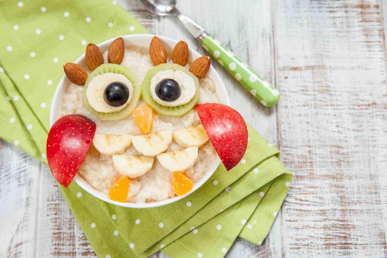porridge frutta