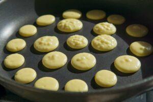 mini pancake di riso