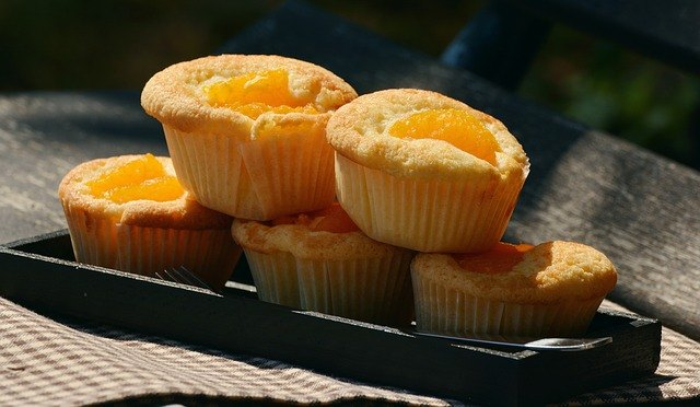 Muffin all'arancia per bambini da 2 anni in su