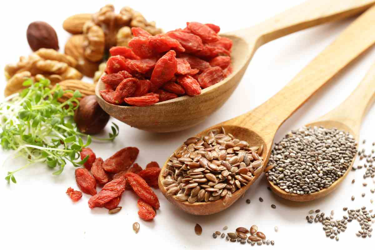 allerta bacche di goji e semi vari