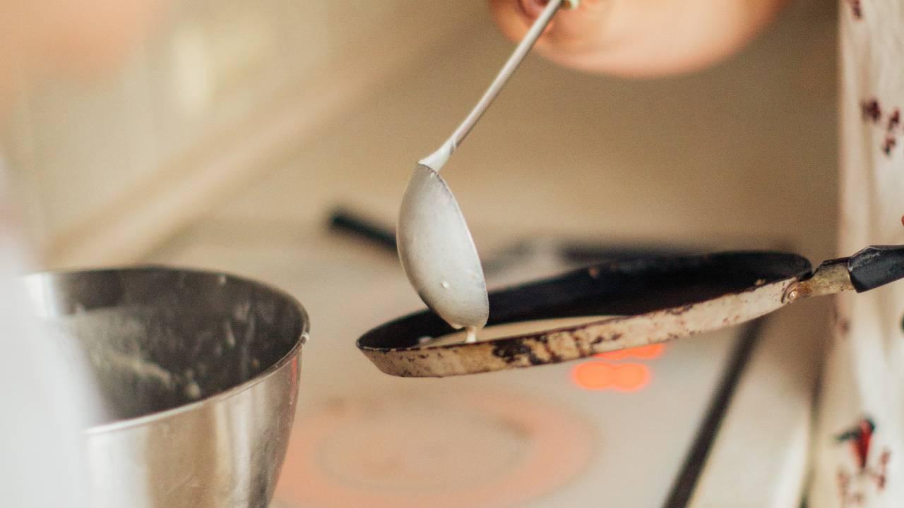 cuocere crepes