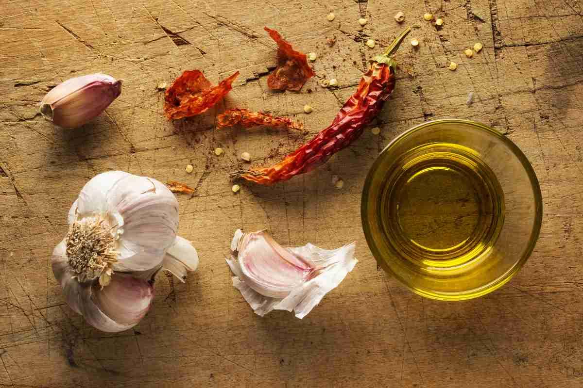 Aglio, olio e peperoncino