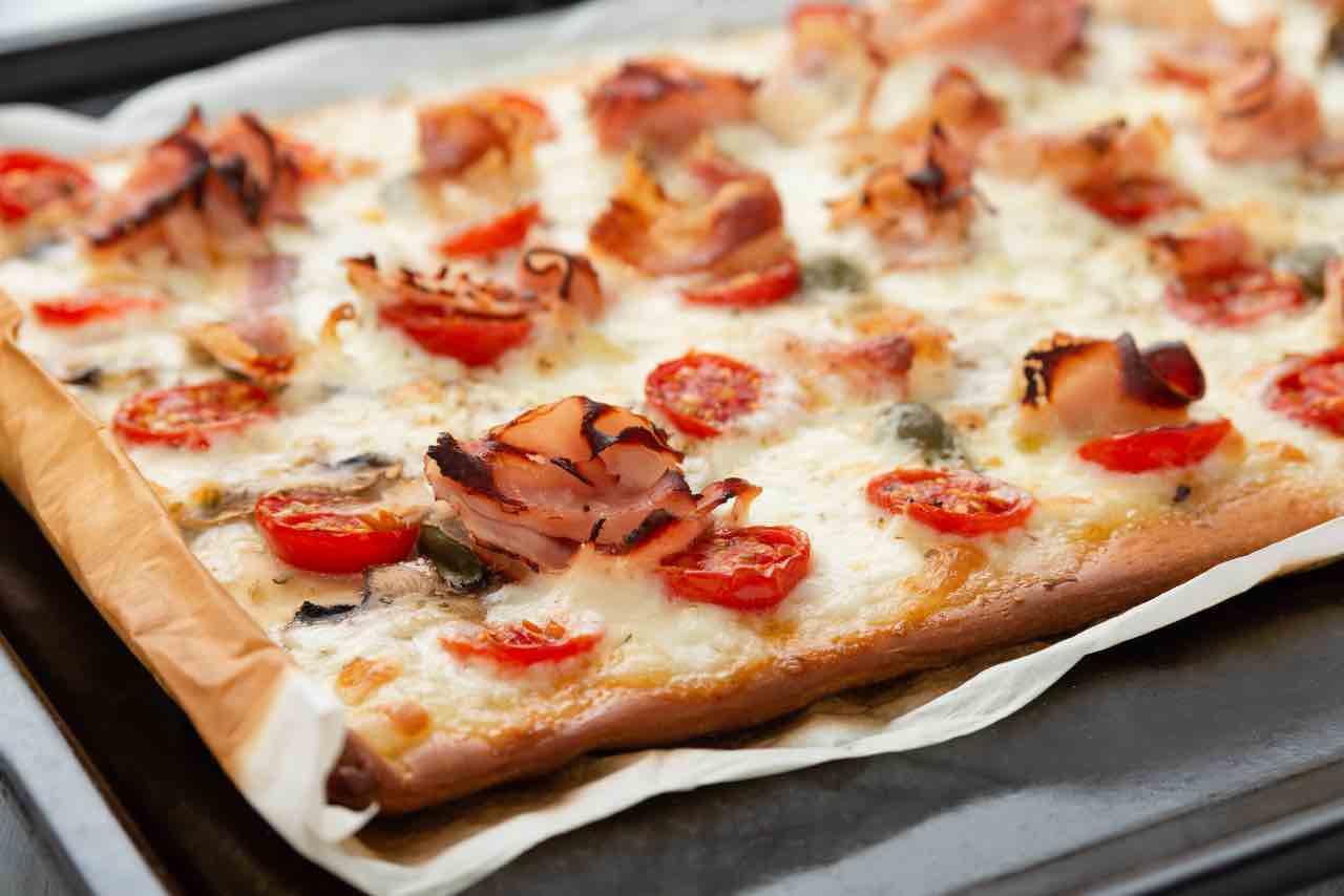 segreti pizza teglia