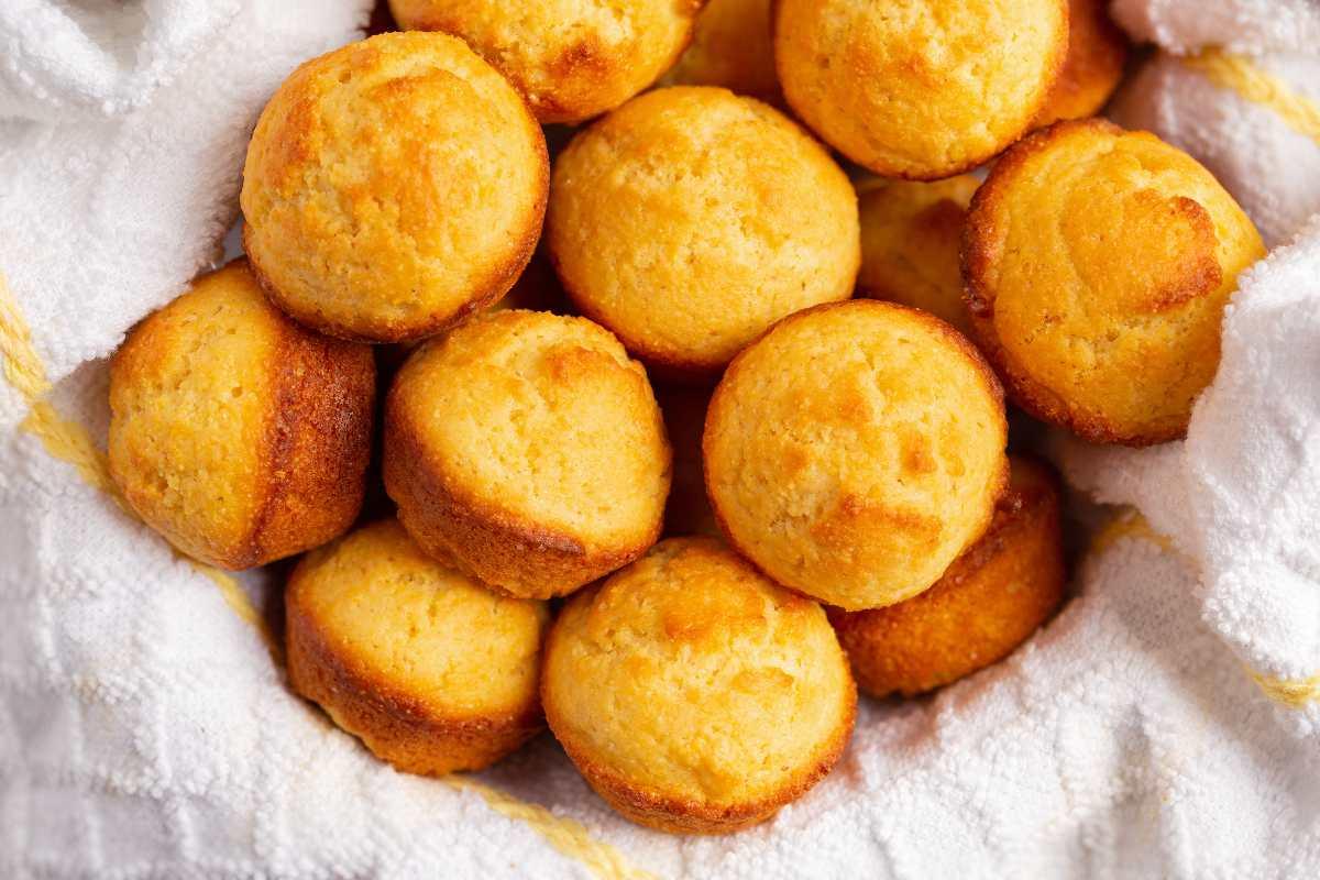 farina di mais ricette: muffin