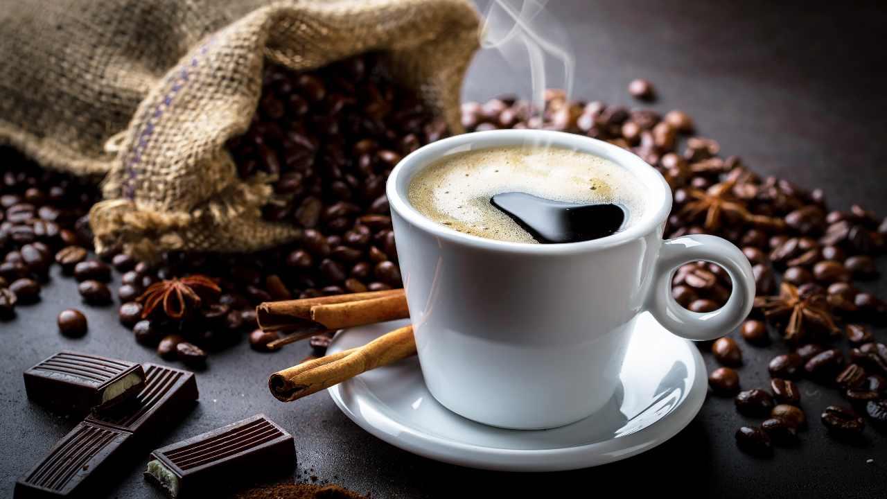 caffè barretta cioccolato