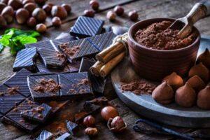 cioccolato in polvere