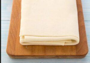4 piega della pasta sfoglia