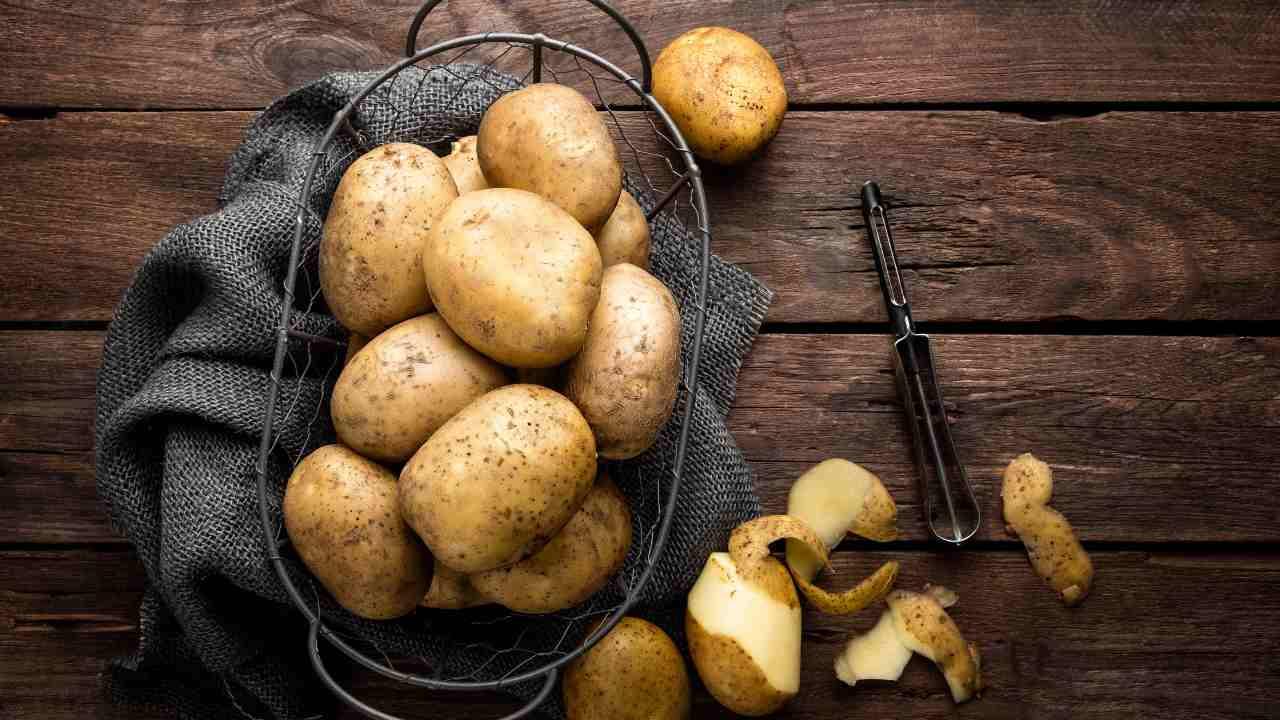 crocchetta di patate impeccabile