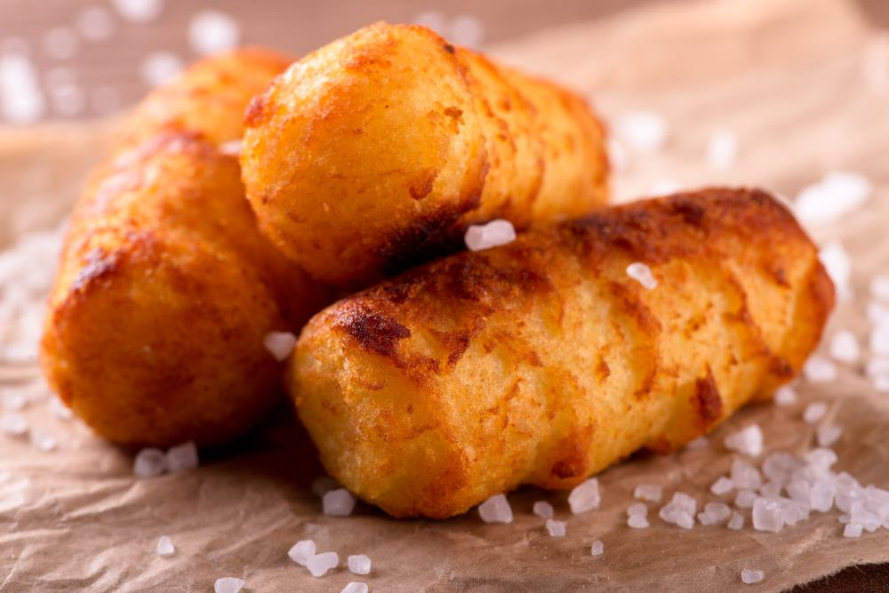 Crocchette di patate al forno facili