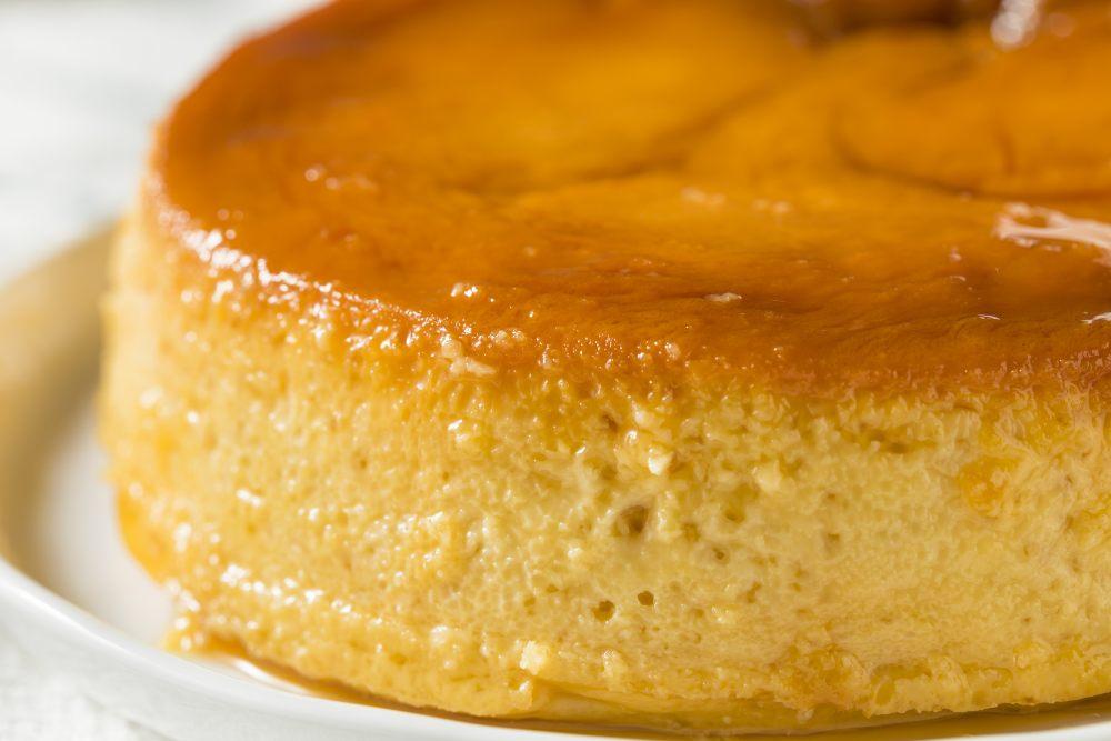 Torta budino 3 ingredienti, senza farina, senza forno!