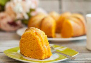 Torta latte e arancia