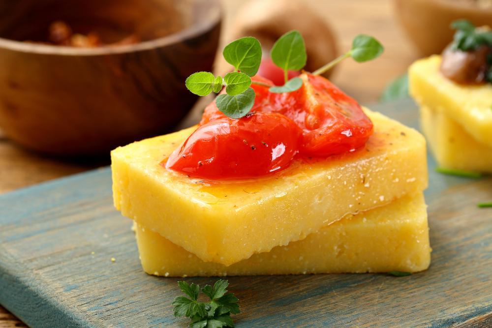 Crostoni di polenta