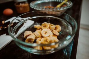 Biscotti alla banana senza burro e senza latte