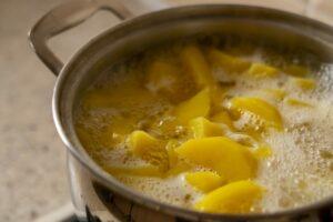 Acqua di cottura delle patate
