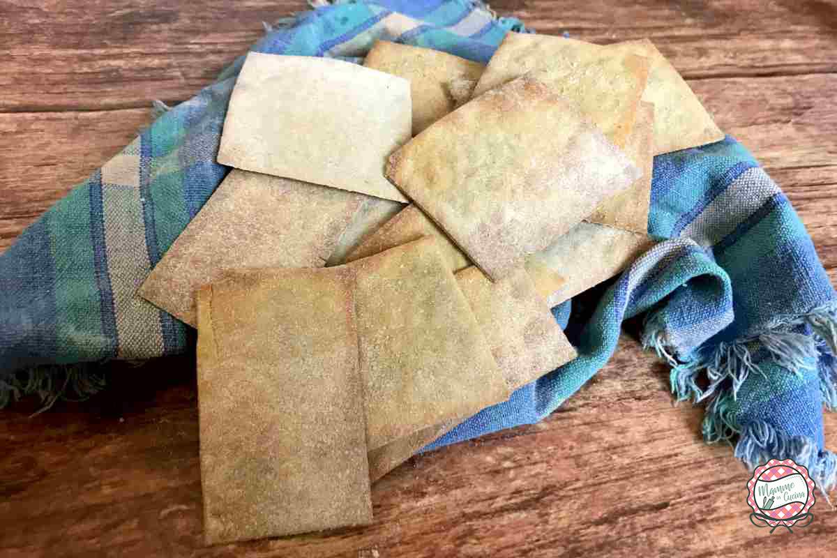 crackers di quinoa