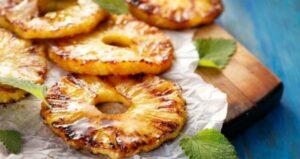 ananas cotta al forno