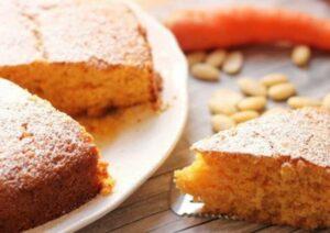 fetta torta alle carote