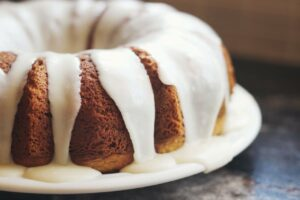 glassare torta