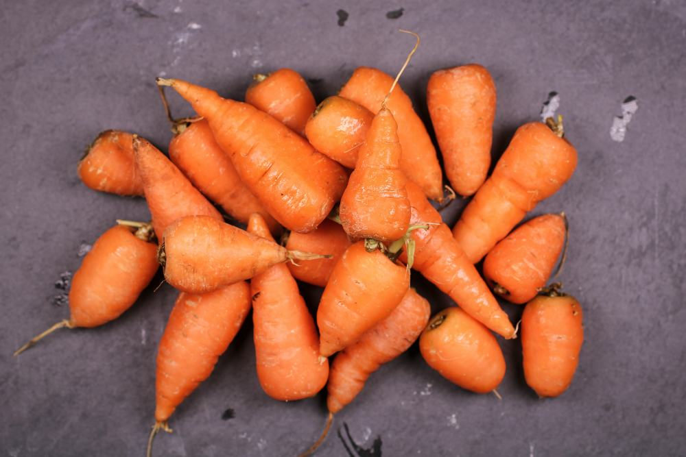 bucce di carota