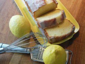 plumcake con glassa