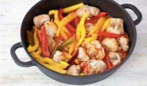 ricetta con peperoni