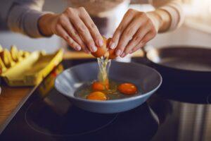 preparazione uova