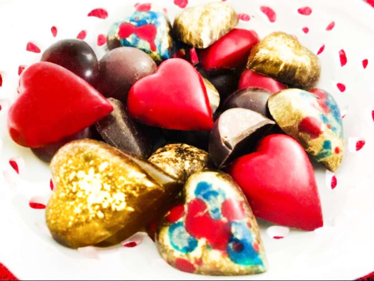 Cioccolatini ripieni, un regalo goloso per San Valentino!