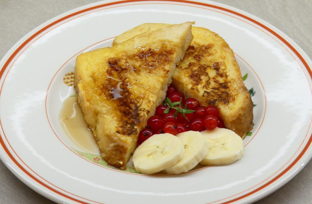 ricetta French toast