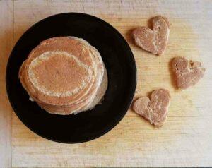 pancake nel piatto