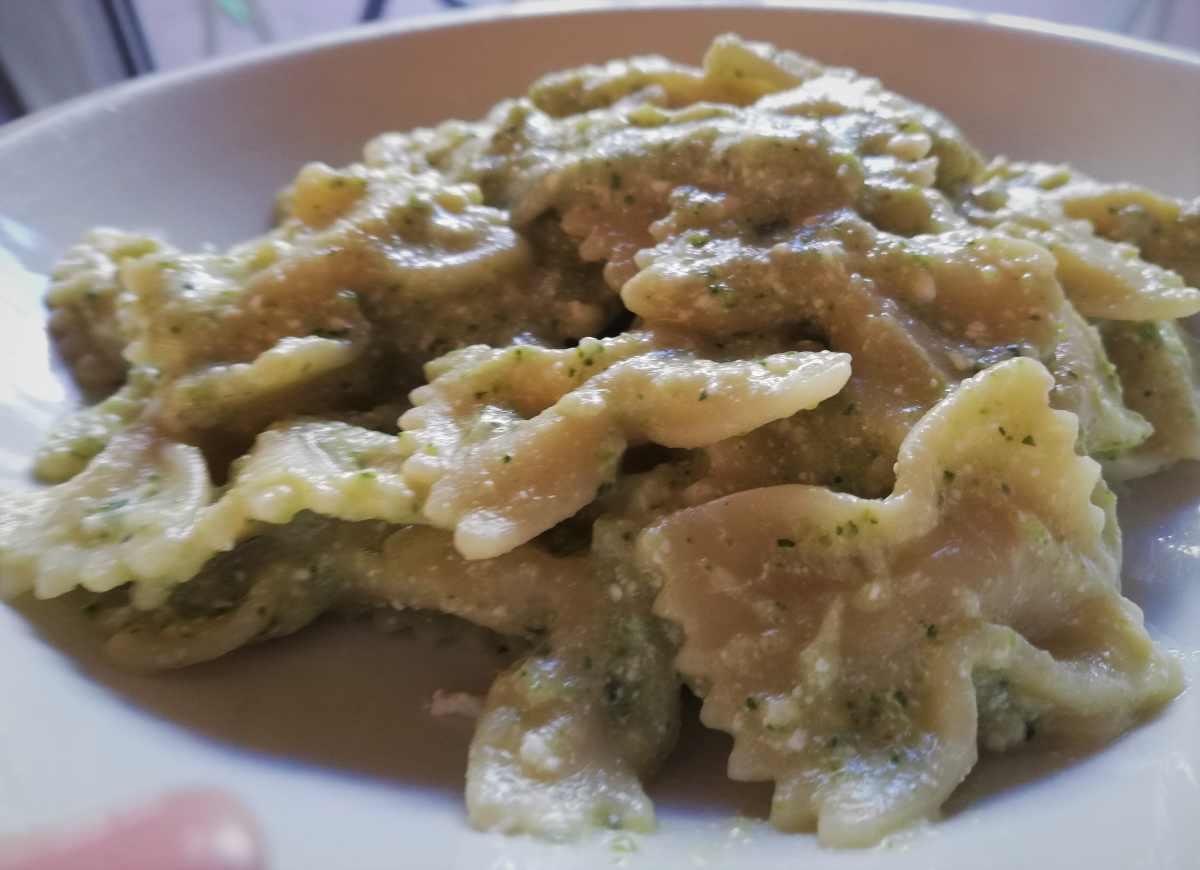 pasta ricotta con le zucchine