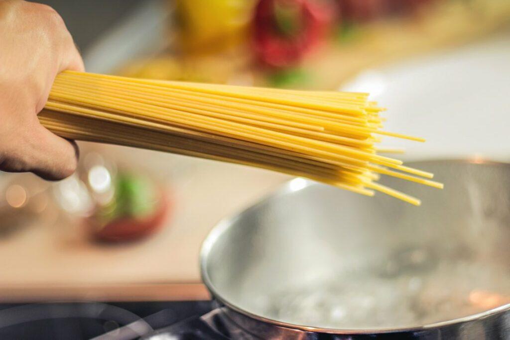 ricetta con spaghetti