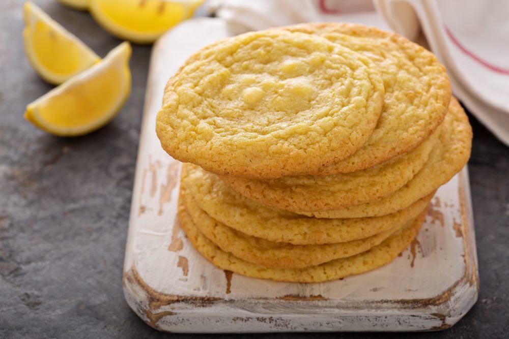 Biscottini al limone leggeri