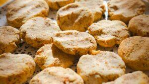 biscottini al limone in forno