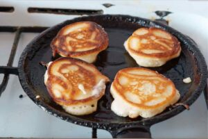 cottura pancake