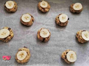 banana cookies crudi
