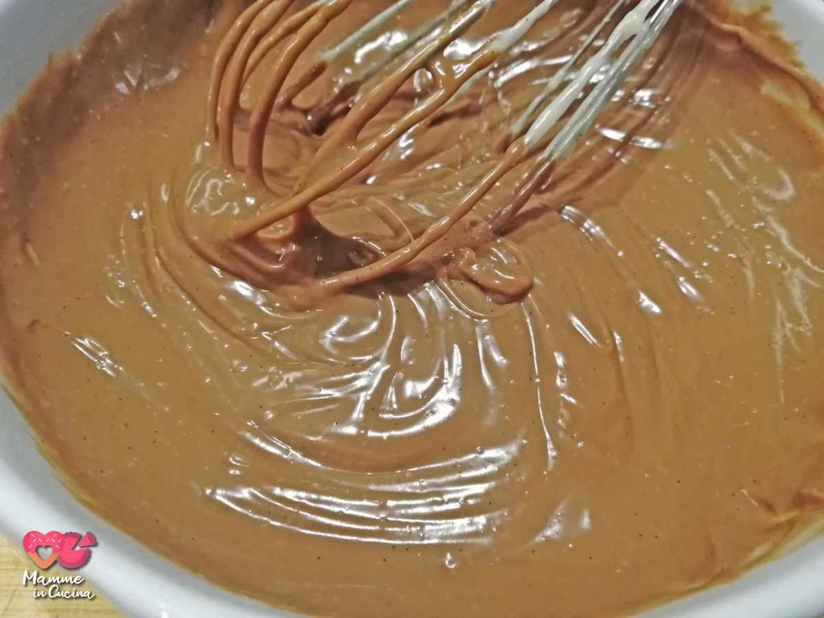 crema pasticcera al cioccolato fondente