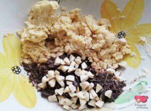 impasto cookies banana e cioccolata
