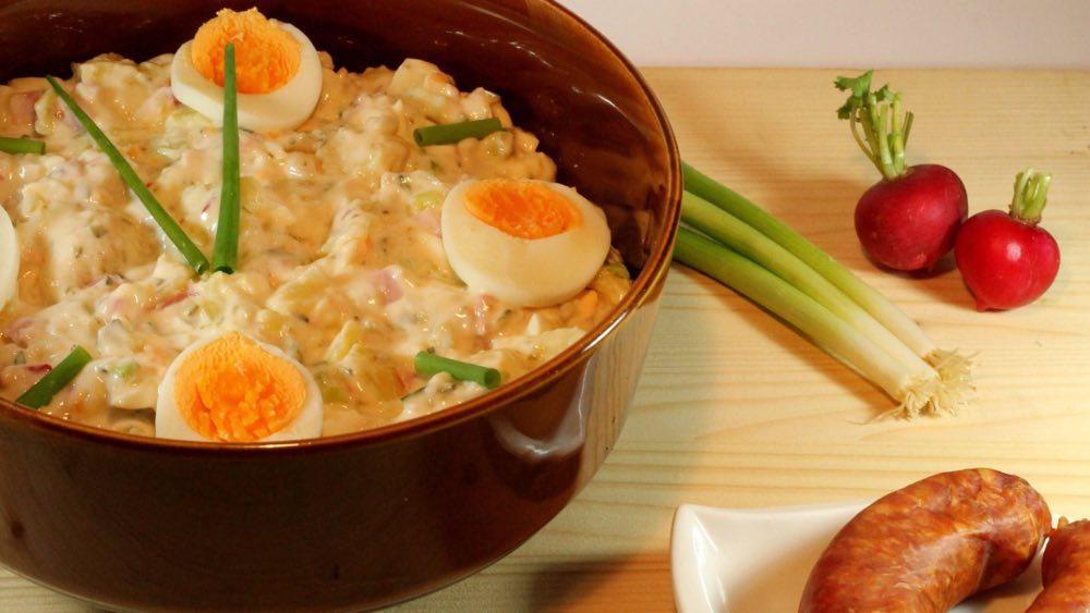 ricetta insalata patate e uova