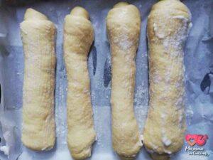 panini in teglia per hot dog