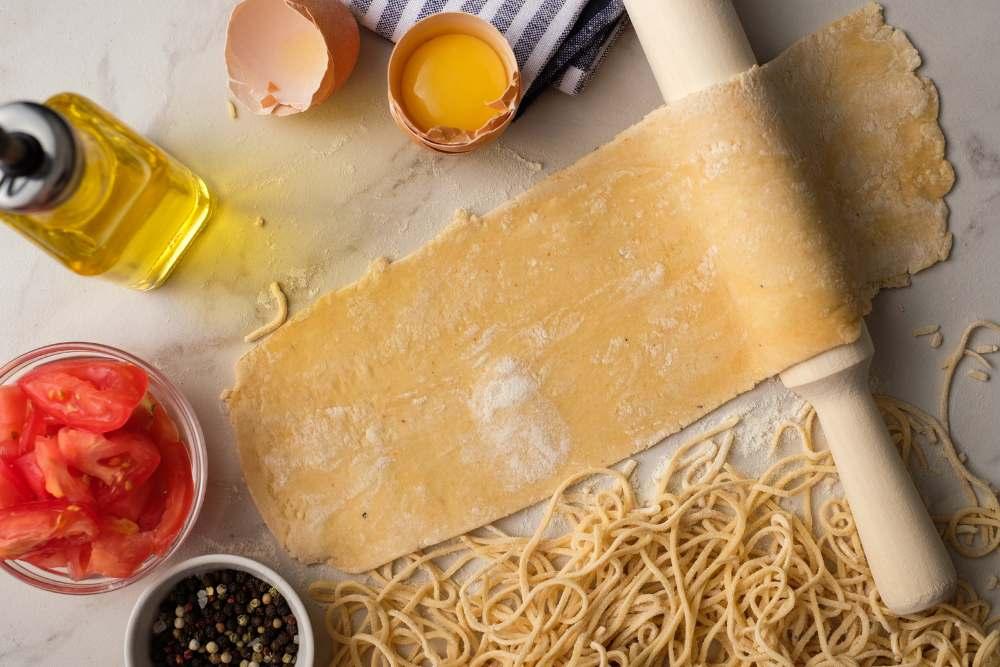 Stendere bene la pasta
