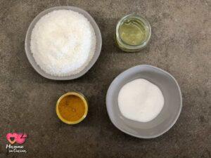 ingredienti dolcetti al cocco