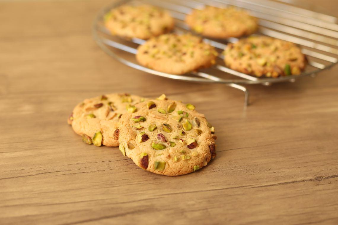 ricetta cookies pistacchio
