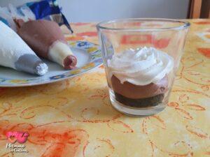 Finta mousse al cioccolato