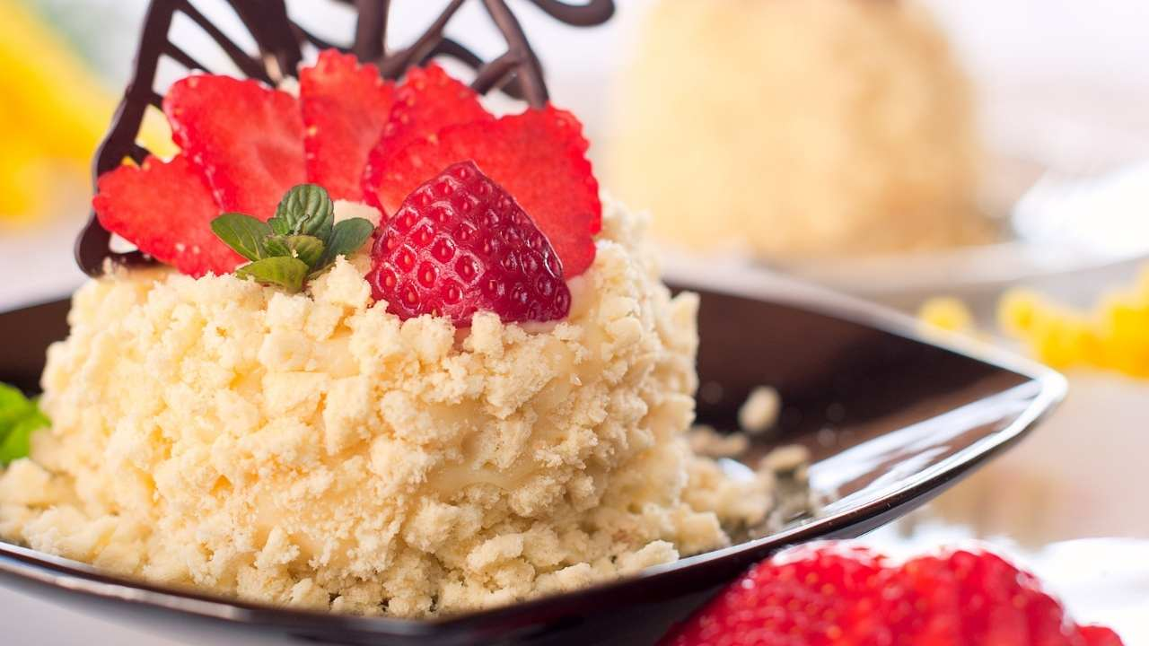 torta mimosa fragole benedetta rossi