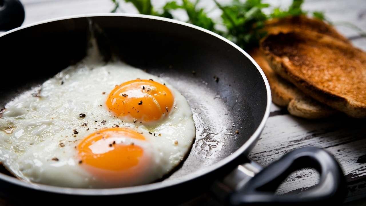 uovo occhio di bue