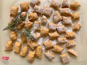 Gnocchetti di patate dolci