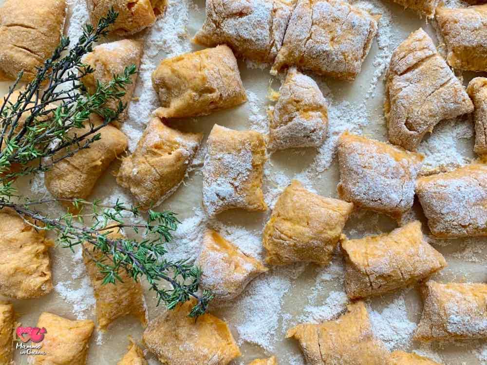 Gnocchetti di patate dolci semplici, leggeri e morbidissimi