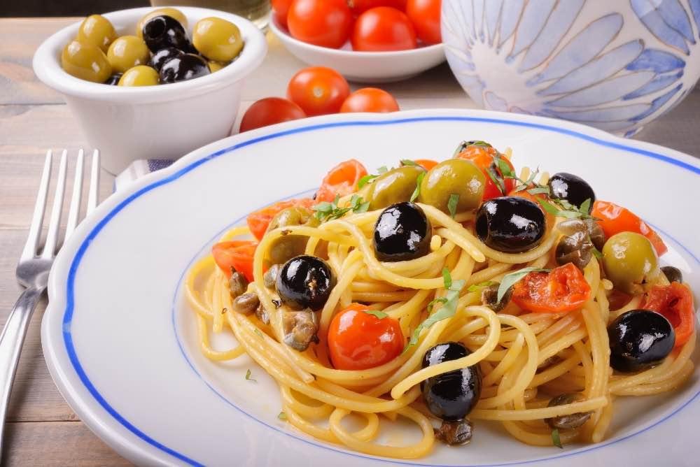Spaghetti all'eoliana